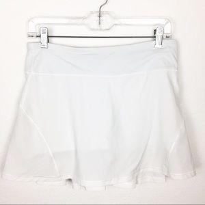 Lululemon Circuit Breaker Skirt White size 6
